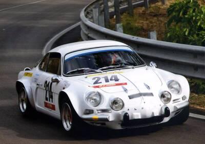 A110 1600 S d'epoca del 1972 a Caltanissetta d'epoca