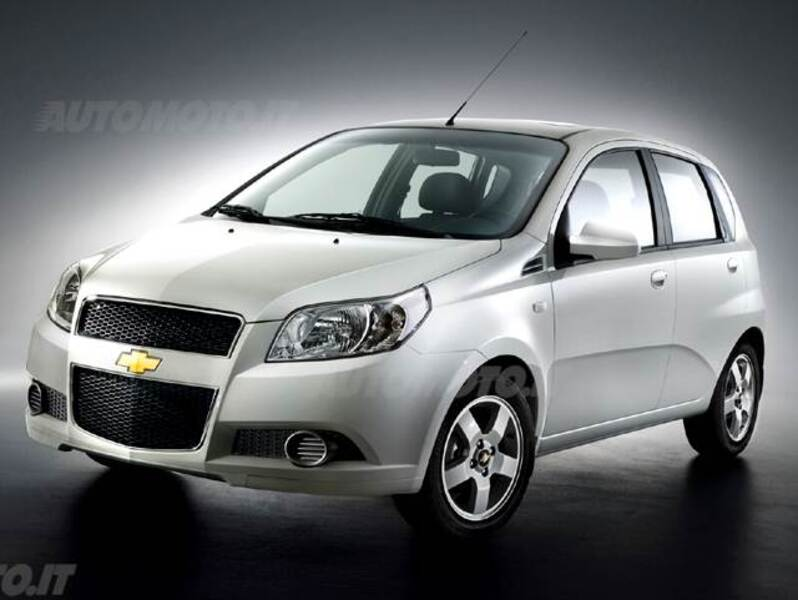 Chevrolet Aveo 12 5 Porte Lt Gpl Eco Logic 062008 092011