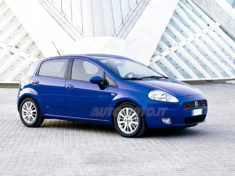 Fiat Grande Punto 1.4 5 porte Actual Natural Power