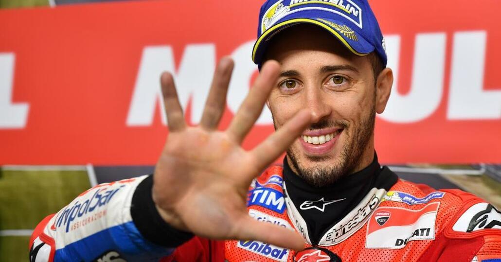 MotoGP 2017. Dovizioso: Nessuno è imbattibile, nemmeno Marquez