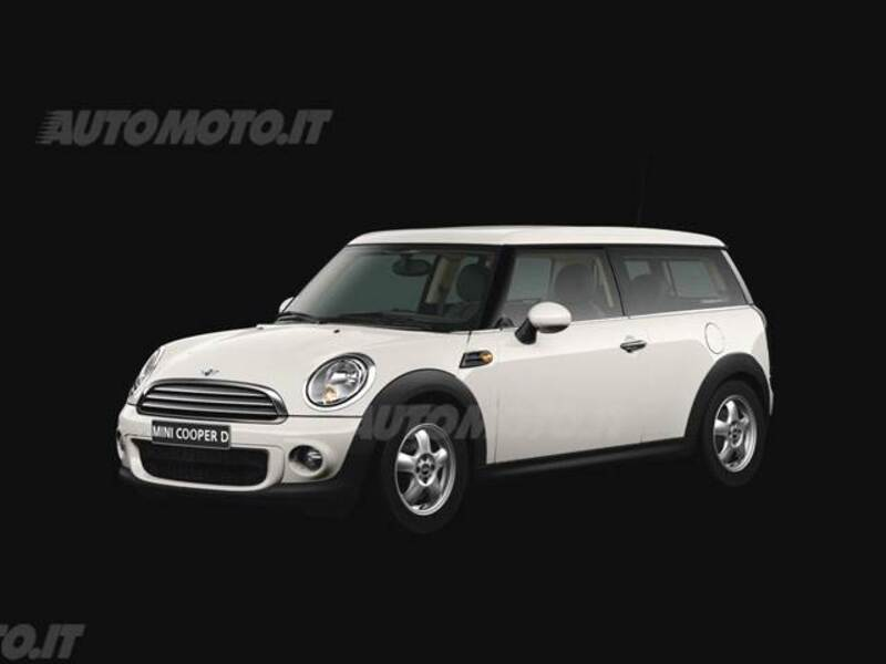 Mini Mini Clubman 16 16v Cooper D Clubman 082010 112012