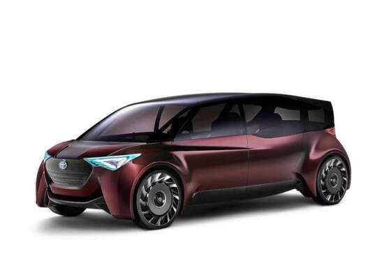 Toyota Fine-Comfort Ride, la concept al Salone di Tokyo