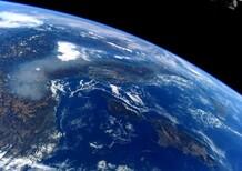 Smog visibile dallo spazio? La foto scattata dall'astronauta Nespoli