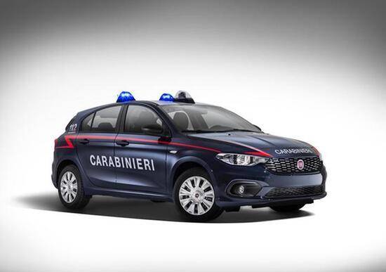 500 Fiat Tipo nella flotta dei Carabinieri