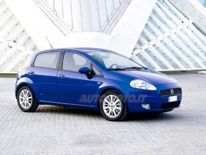 Fiat Grande Punto 1.4 5 porte Dualogic Actual