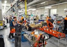Come nasce una KTM: dentro la fabbrica di Mattighofen