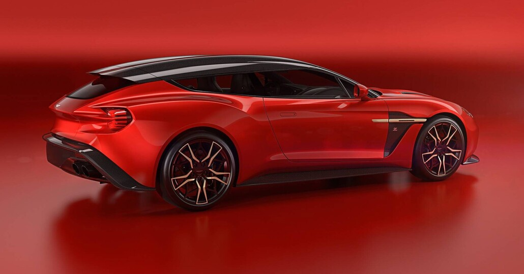 Aston Martin Vanquish Zagato Shooting Brake, arriva la Vanquish con la coda
