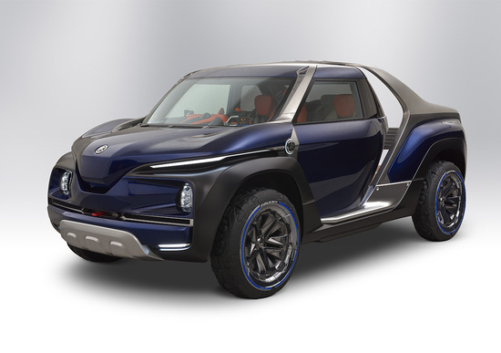 Yamaha Cross Hub Concept, dalle due ruote alle 4x4