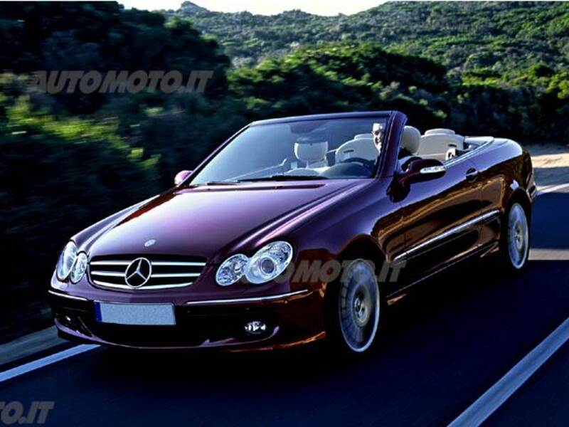 mercedes-benz clk 200 kompr. cat cabrio grand edition (06/2008