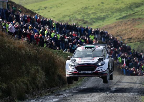 WRC17 Wales GB. Incredibile Evans, incredibile Ogier, incredibile Neuville!