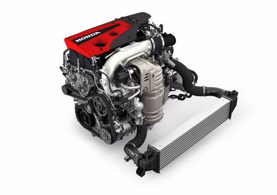 Honda, il motore da competizione per la Civic Type R