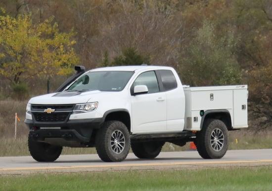 Chevrolet Colorado, prove di pick up