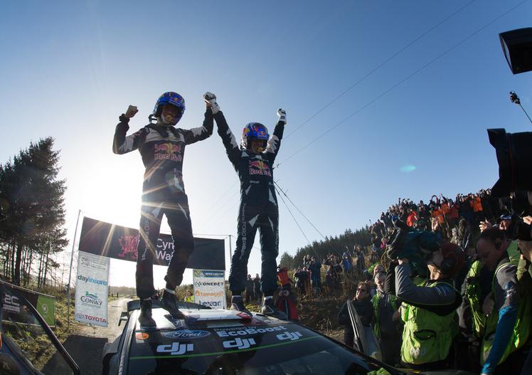 WRC, Sébastien Ogier: il quinto titolo in immagini