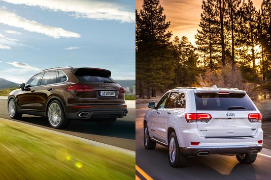 Due mondi e due modi di interpretazione del SUV premium, secondo Jeep o Porsche