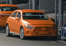 Mercedes Classe A, eccola senza veli