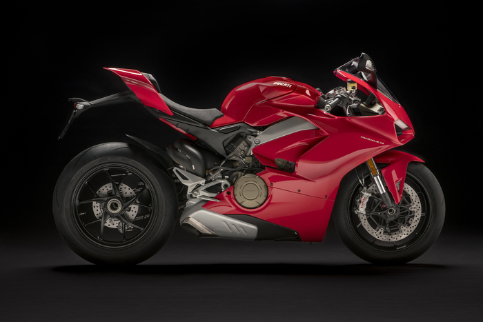 La Ducati Panigale V4 in versione standard
