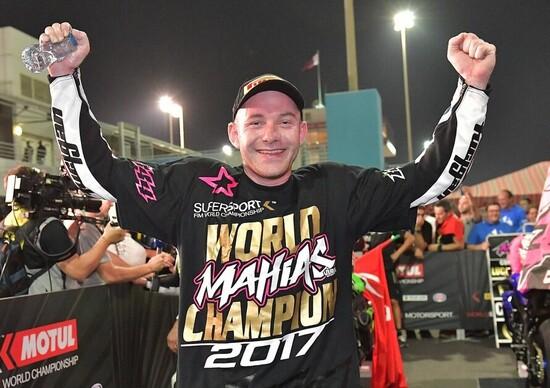 Mahias campione del mondo Supersport 2017 e Sofluogu entra nella leggenda