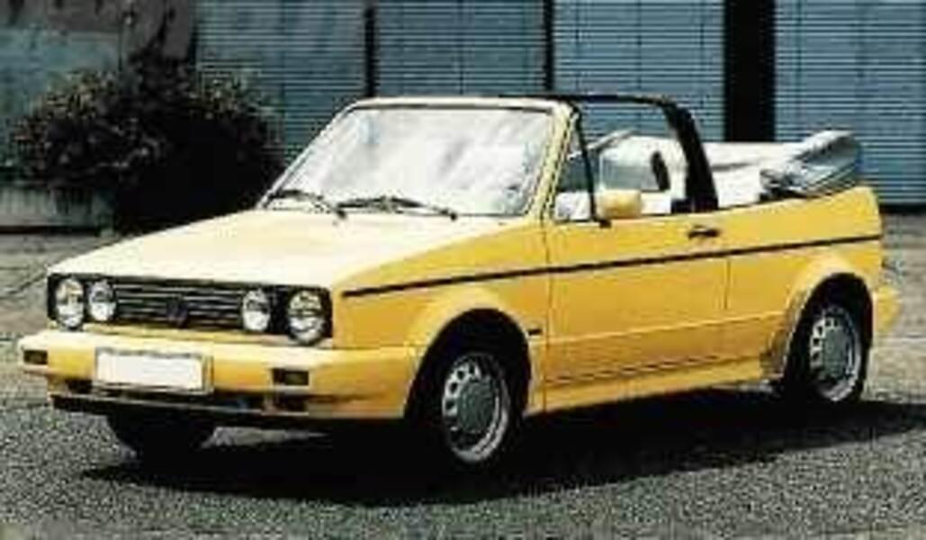 Volkswagen Golf Cabrio 1800i cat Young
