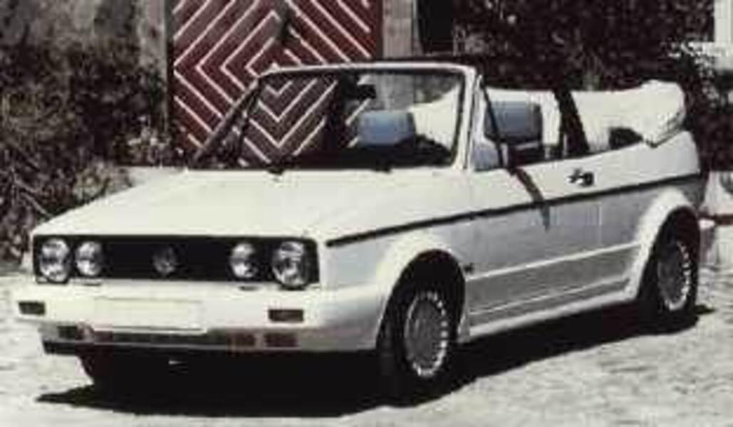 Volkswagen Golf Cabrio 1600 GL