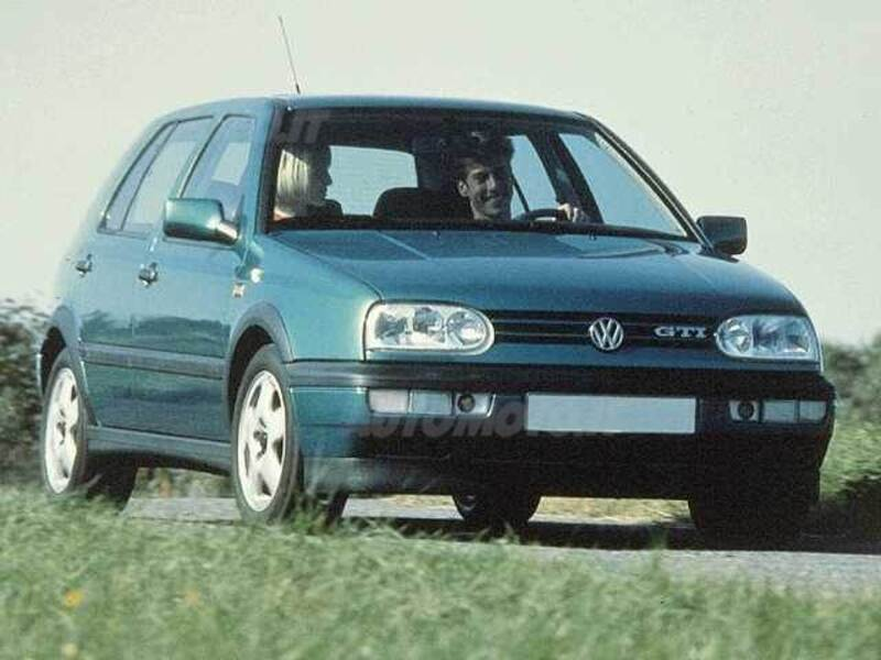 Volkswagen Golf 1.6 cat 5 porte GT