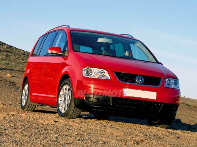 Volkswagen Touran TDI DPF DSG Highline