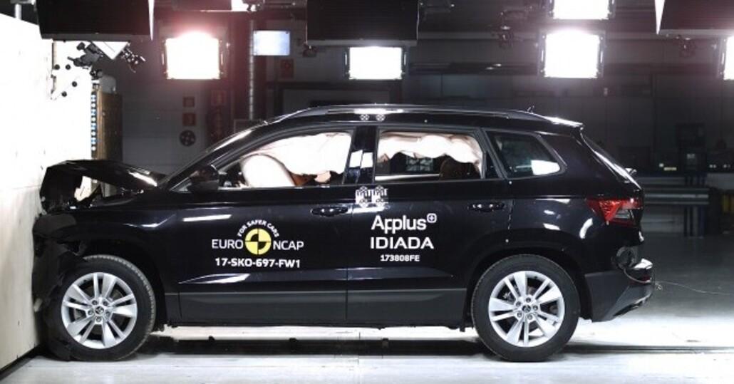 Crash test Euro NCAP, cinque stelle per otto modelli