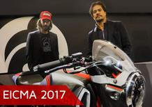 EICMA 2017. Keanu Reeves: Faccio moto da guidare