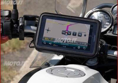 porta navigatore Cellular Line PORTA NAVIGATORE PER MANUBRI NON TUBOLARI - Annuncio 6060409