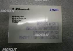 LIBRETTO Kawasaki LIBRETTO USO E MANUTENZIONE Z 750S
