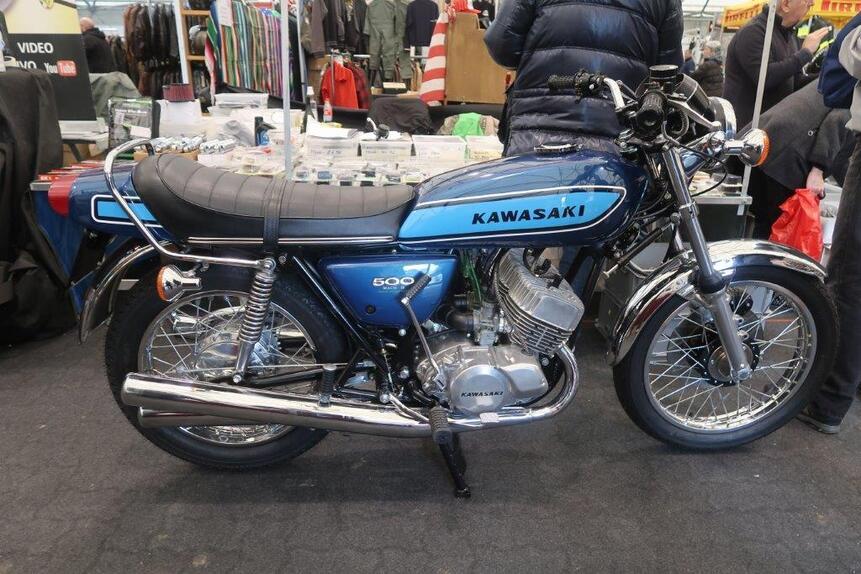Mostra Scambio di Novegro, le moto in vendita