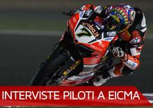 """Davies a EICMA 2017 : """"Un onore far parte del team Ducati"""""""
