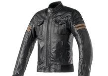Clover: a EICMA con la giacca in pelle Blackstone
