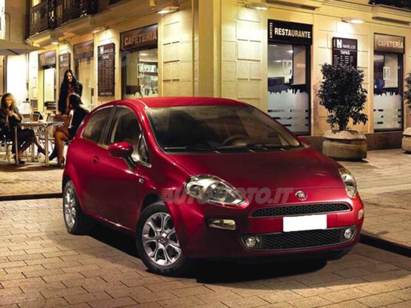 Fiat Punto 1.4 8V 3 porte Natural Power Lounge