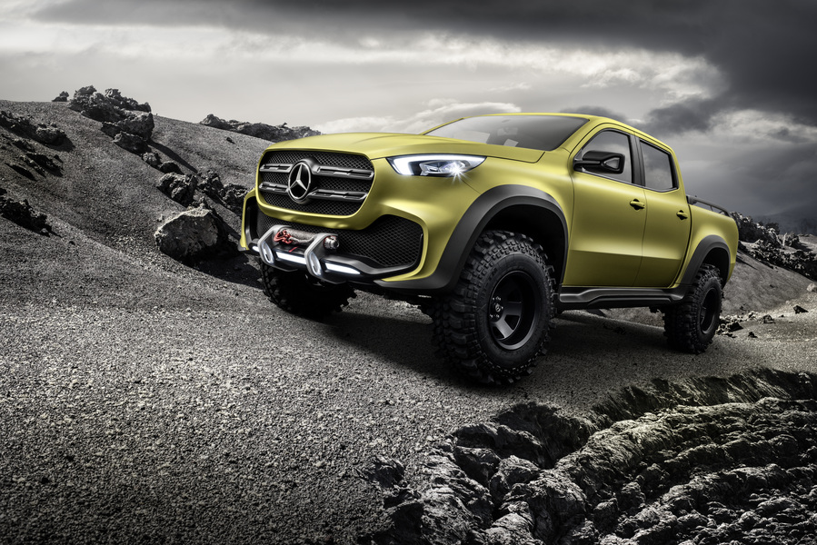 Mercedes-Benz Classe X Pick-up 250 d 4Matic Power (4)