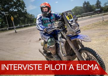 """Botturi a EICMA 2017: """"Pronto per una tosta Dakar con Yamaha"""""""