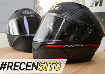 KYT NF-R. Recensito casco sportivo termoplastico