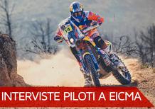 Sunderland e Viladoms a EICMA 2017. Obiettivo Dakar
