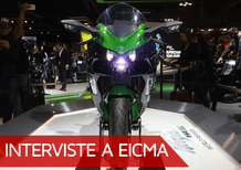 Kawasaki a EICMA 2017. Le novità e Giovanni Poli