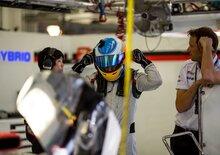 Fernando Alonso, 113 giri sulla Toyota LMP1 in Bahrain