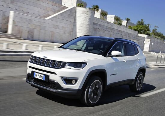 Jeep Compass Limited Winter, pronta all'inverno