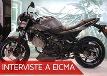 Suzuki a EICMA, Andrea Gamberini e le novità