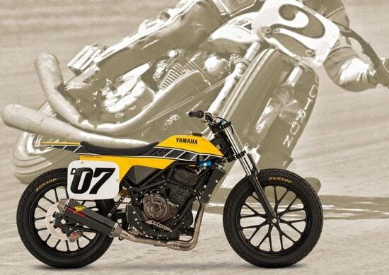 Yamaha DT-07 Flat Track Concept