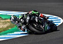 Test SBK: giro record di Rea a Jerez