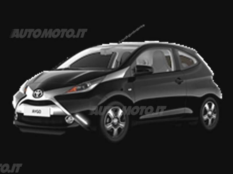 Toyota Aygo 1.0 VVT-i 69 CV 3 porte x-clusiv MMT