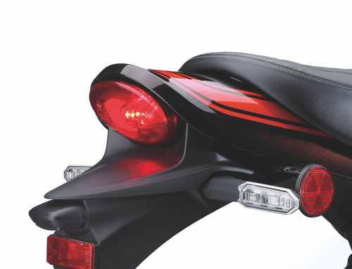 Il codino duck-tail come sulla Z1 900
