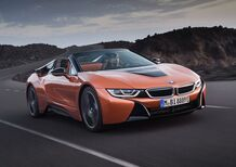 BMW i8 Roadster, l'ibrida ora è scoperta