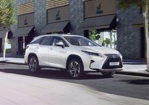 Lexus RX L, il SUV ora anche a 7 posti