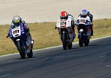 Zannoni e Marcon, speranze azzurre nella Moto3