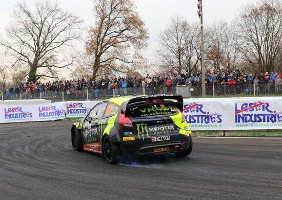 Monza Rally Show 2017, Day2: Rossi davanti a Bonanomi