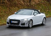 Audi TT, ecco il facelift dell'ultima generazione